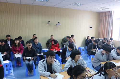 广西示范性教务职位社团代表团来玉祁主任交流好高中高中做高中什么图片