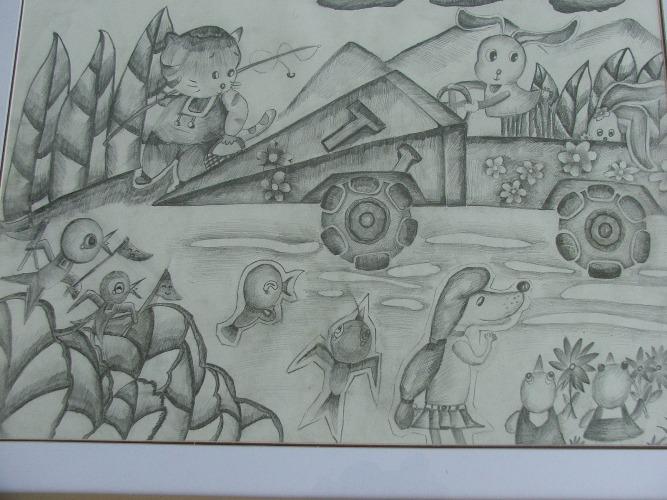 丁堰小学举办科技幻想绘画比赛活动图片