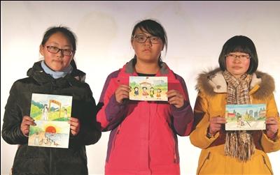 南通中小学生手绘文明礼仪明信片大赛启动