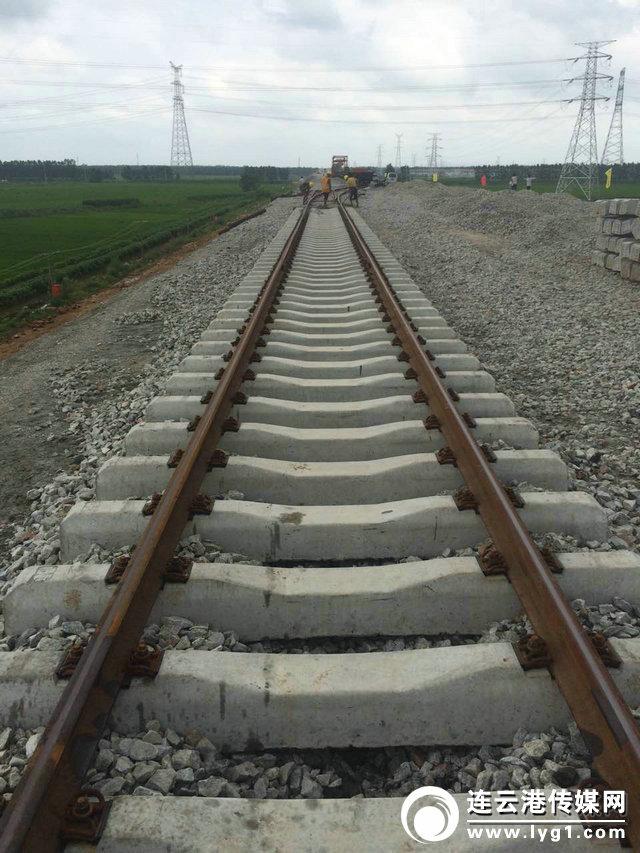 连盐铁路连云港段取得重进展
