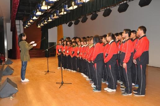 滨海县八滩中学举行第七届校园文化艺术节