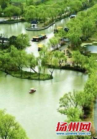 瘦西湖风景区.资料图片
