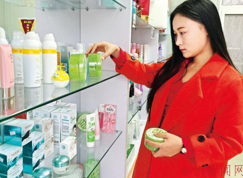 泰职院大二女生张雨彤说,创业让她实现了蜕变